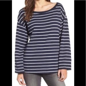 NWOTs TREASURE & BOND • Striped Navy Sweater Top